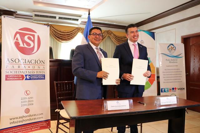ASJ y Poder Judicial suscriben convenio de colaboración