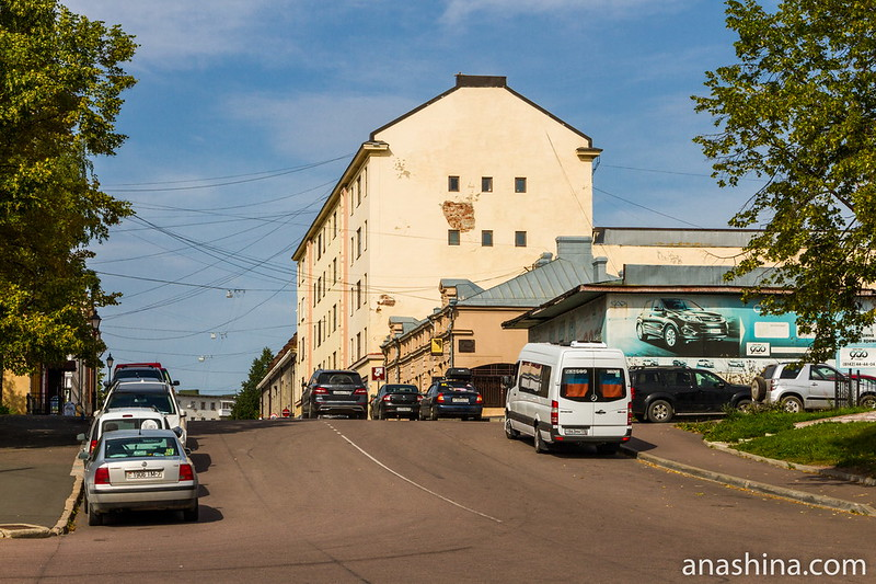 Комсомольская улица, Сортавала, Карелия