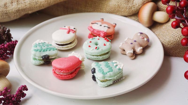 Christmas Macarons.Christmas Macarons 2018 Sumopocky Custom Bakes