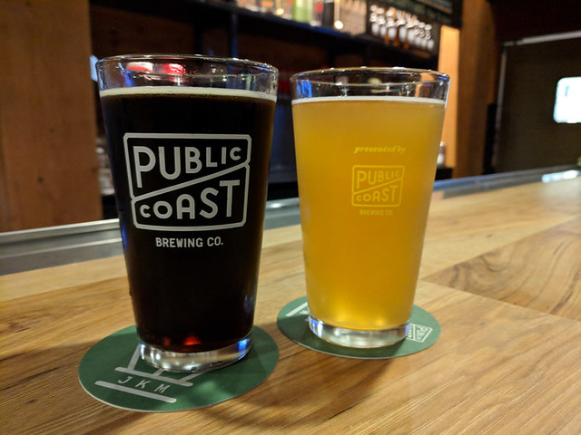 beers @ Public Coast Brewing
