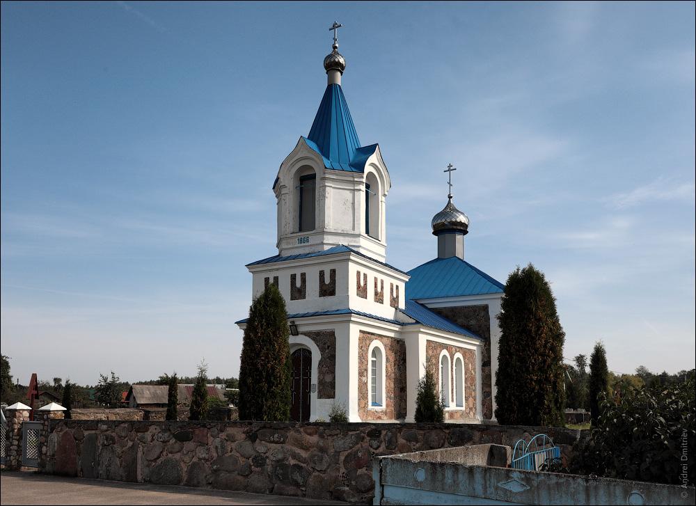 Михневичи, Беларусь, Церковь Покровская