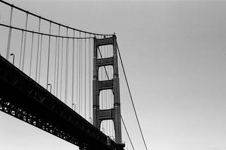 Sous le Pont / Fort Point - San Francisco, Californie
