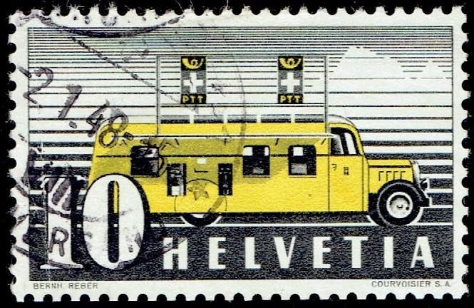 Switzerland - Scott #307 (1946)
