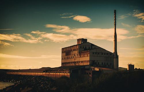 Abandoned Gypsum Factory
