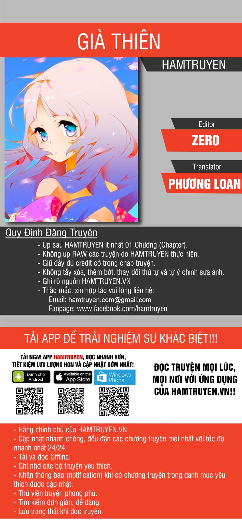Già Thiên Chap 69 . Next Chap Chap 70.5