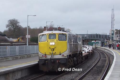 Irish Rail 088 in Portarlington.