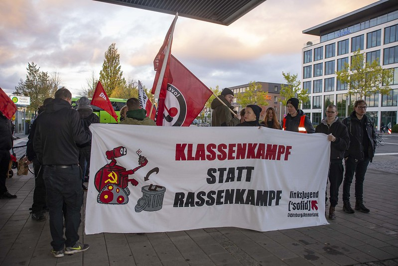 Demonstration gegen den Landesparteitag der AfD in Oldenburg