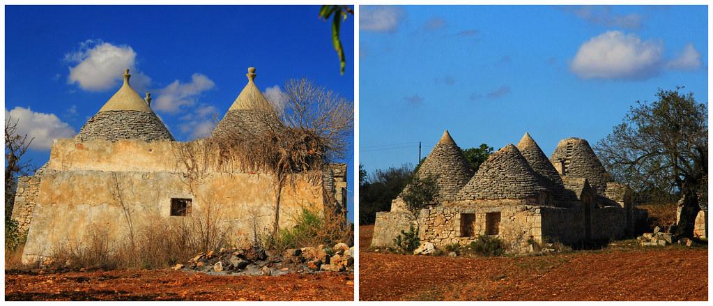 Rural Trulli houses, Puglia