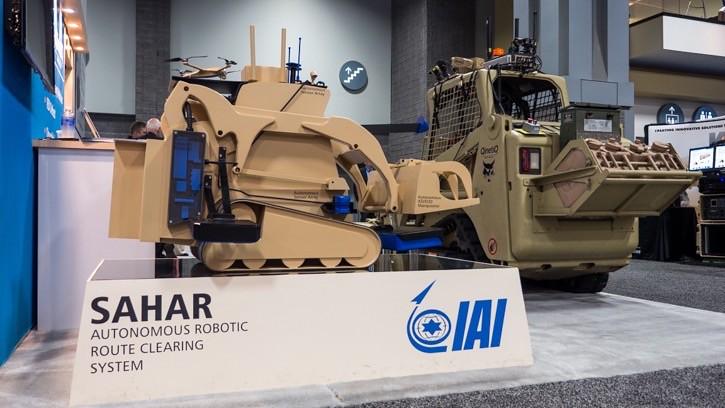 IAI-Sahar-robotic-bulldozer-AUSA-2014-du-1