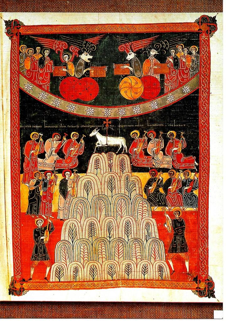 El Cordero sobre el monte Sión. Ap. XVI, 1-3