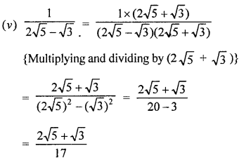 Rationalisation Problems With Solutions PDF RD Sharma Class 9 Solutions