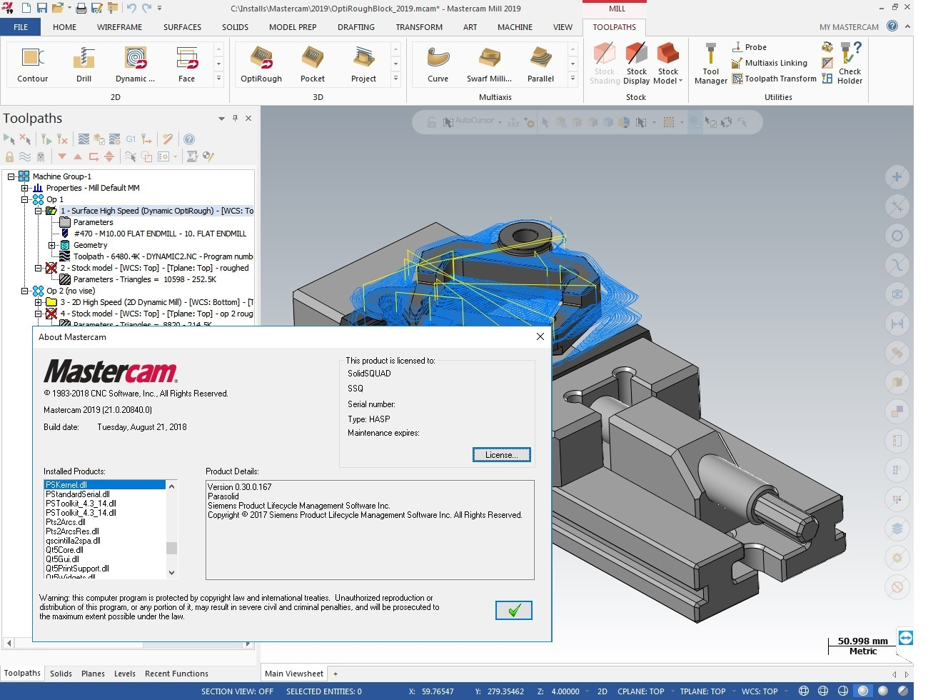 Download Update2 for Mastercam 2019 and Mastercam2019 for SolidWorks x64 full