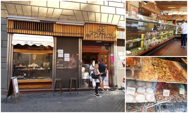 Il Fornaio bakery Rome