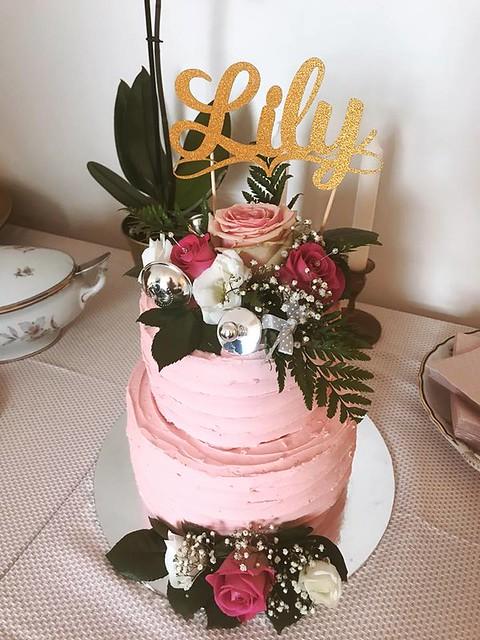 Christening Cake by Finn-Riikka-Cakes