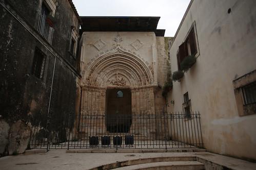 Ibla: portale di San Giorgio