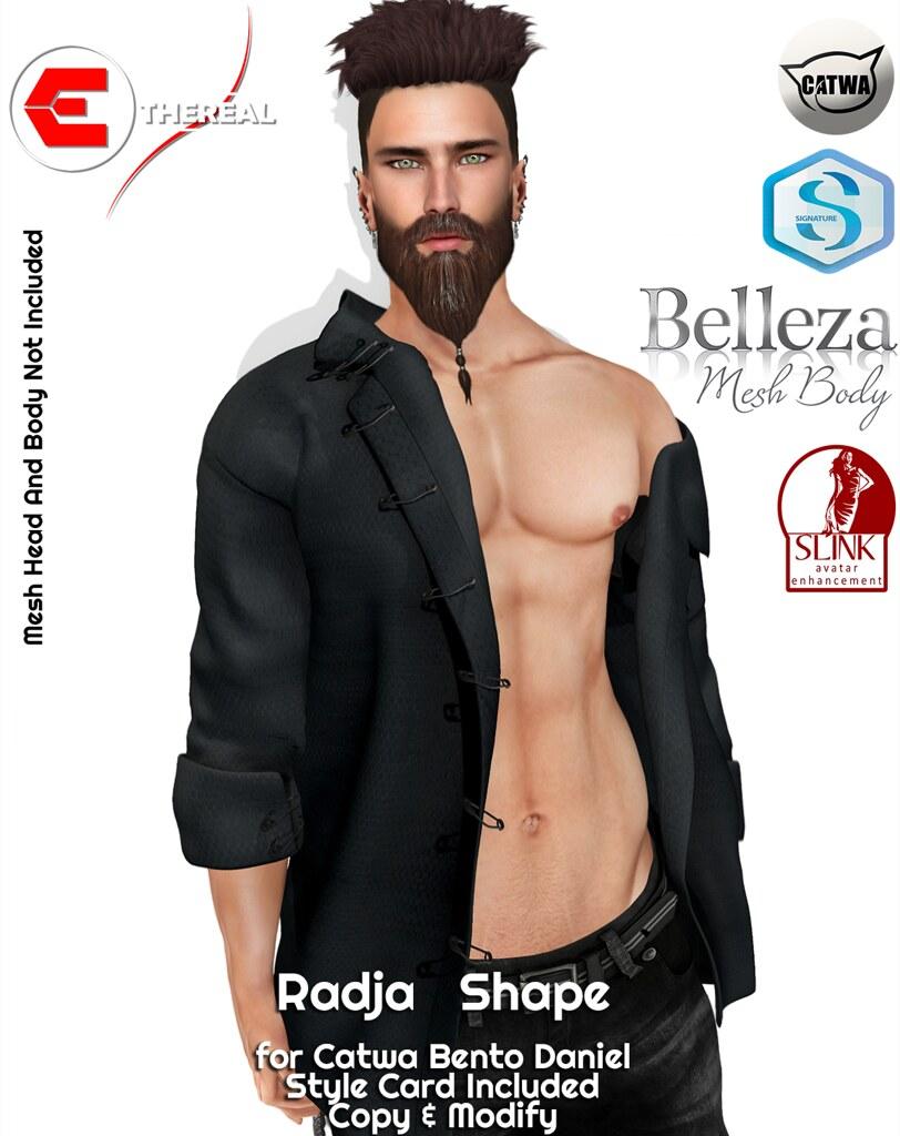 Radja Shape - Bento Catwa Daniel - TeleportHub.com Live!