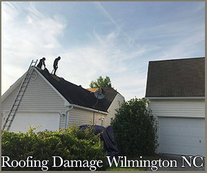 roofing damages in Wilmington, NC