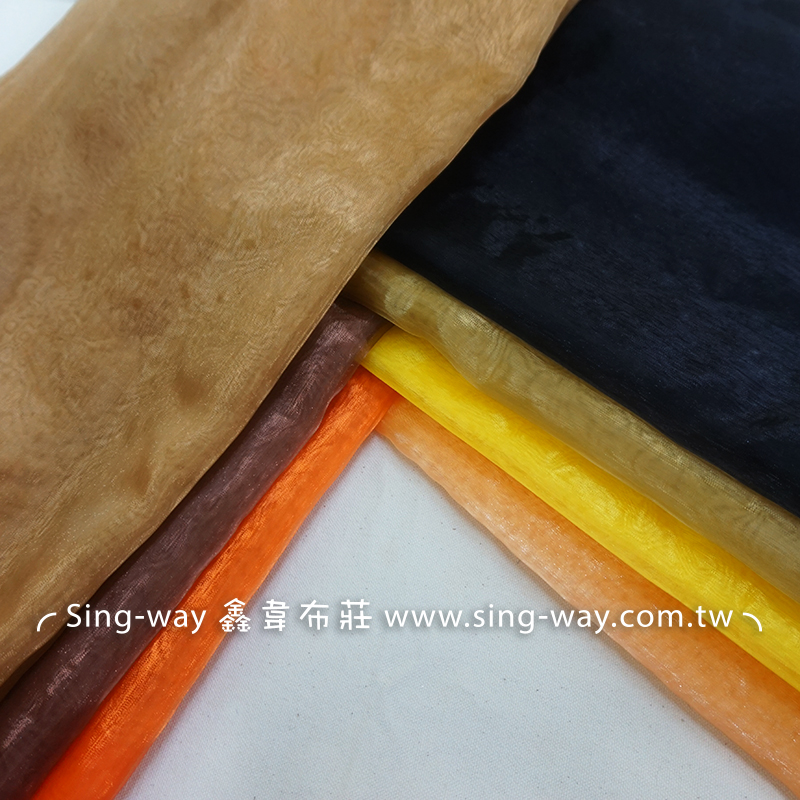LD240011 咖啡色系 素面緞面 亮面節慶裝飾 桌巾 表演舞台禮服 衣服內裡 服裝布料 LD240011