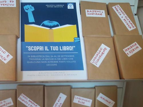 "Cavenago di Brianza - Biblioteca ""I libri proibiti"""