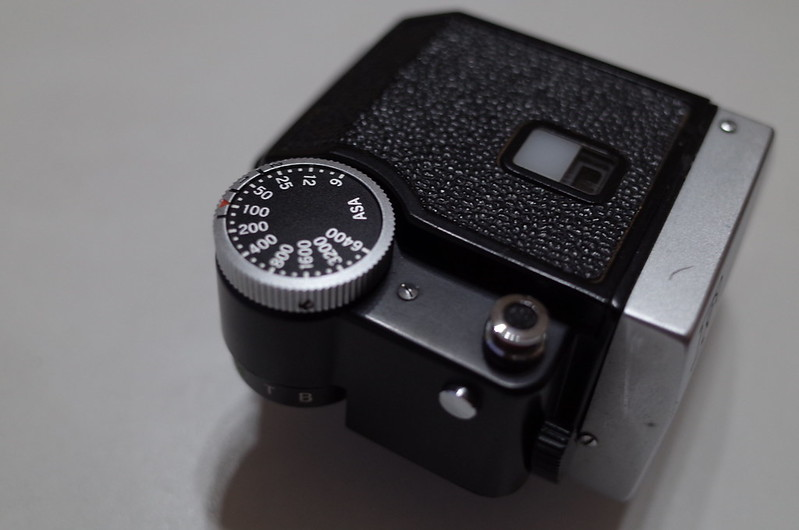 Nikon F フォトミックFTNシャッターダイヤルASA設定ダイヤル部 電池チェッカー 露光ボタン