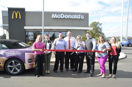 McDonald's of Okemos Hosts Grand Re-Opening