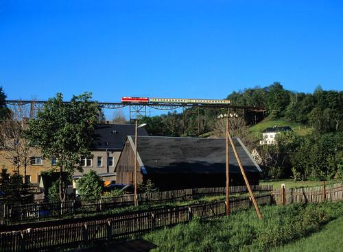 Aussichtsbahn-Schnellzug