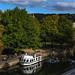 River Avon, Bath, Somerset, England, September 2018