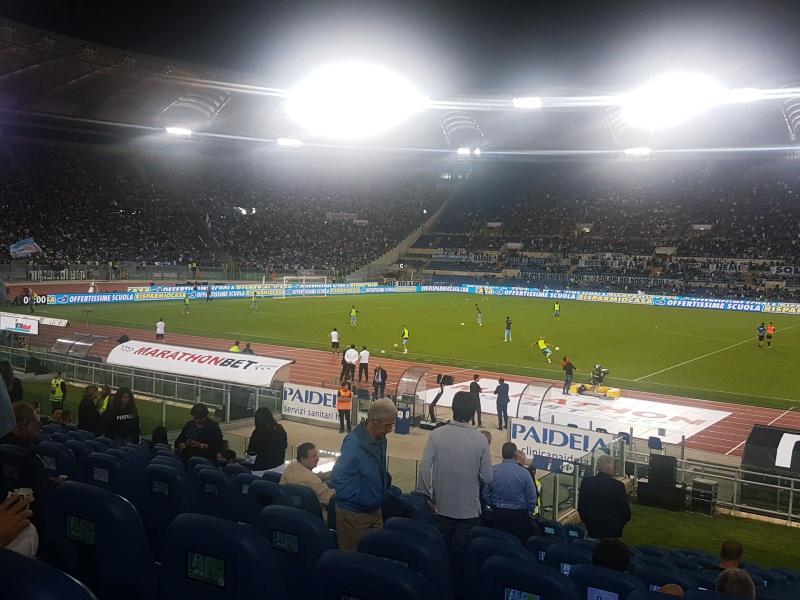 Lazio soccer game