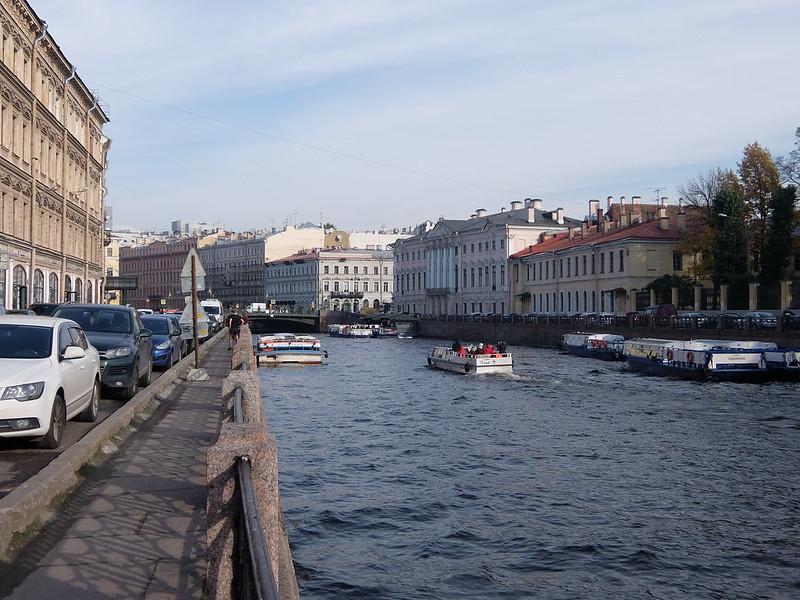 Санкт-Петербург - Фонтанка
