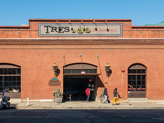 TRES Mexican restaurant at 130 Townsend Street in San Francisco, California
