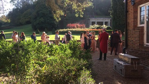 Impromptu wedding at the Wotton House Hotel
