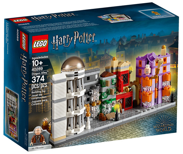 LEGO 40289 Diagon Alley Available this November!