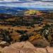 WNW view from Brian Head Peak, Utah - 11,312 feet elev. by Parowan496