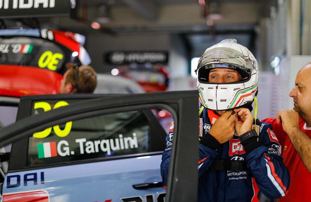 TARQUINI Gabriele, (ita), Hyundai i30 N TCR team BRC Racing, portrait during the 2018 FIA WTCR World Touring Car cup of China, at Ningbo  from September 28 to 30 - Photo Marc de Mattia / DPPI