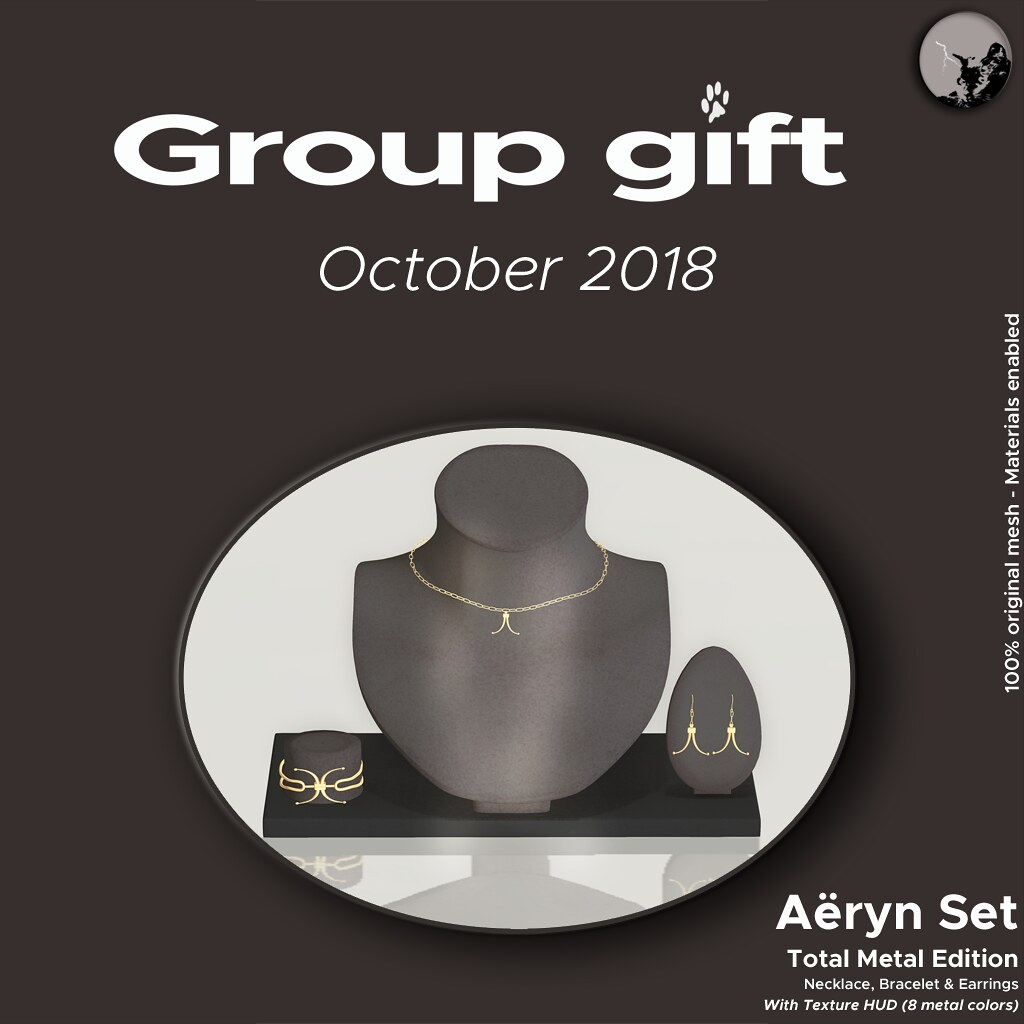 October Group Gift @ Petit Chat