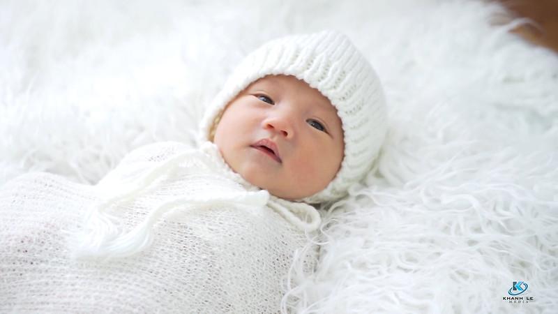 Chụp ảnh sinh nhật 1 tuổi của thiên thần nhỏ