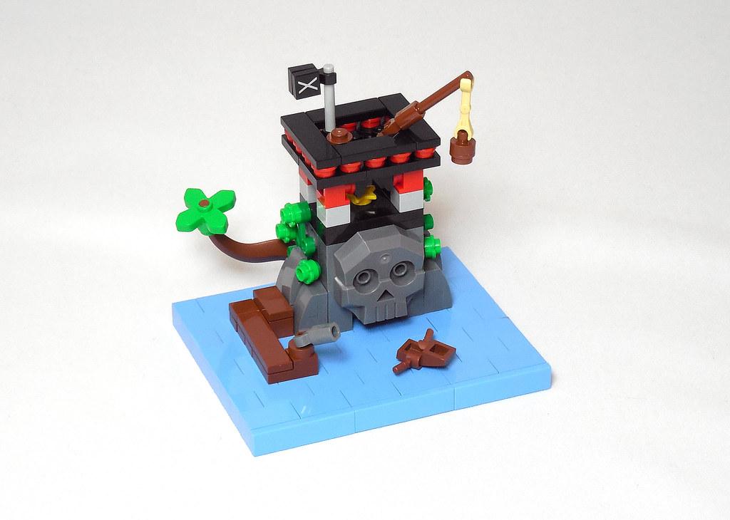 LEGO® MOC by Vitreolum: 6279 Skull Island Micro