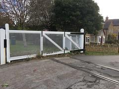Bradpole level Crossing remaining track