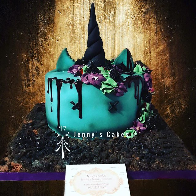 Halloween Cake by Jenny Heath-Johnson of Jenny's Cakes