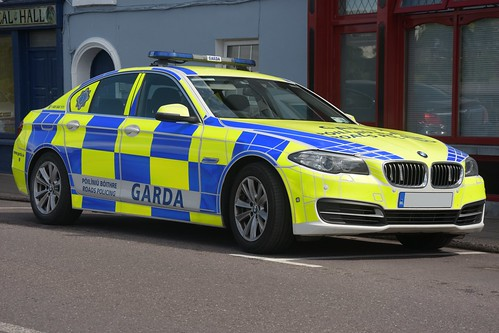 An Garda Siochana Irish Police Force 2017 BMW 5 Series 530 D RPU IRV