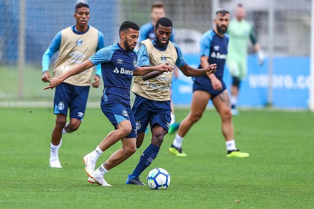Treino Grêmio 20/09/2018