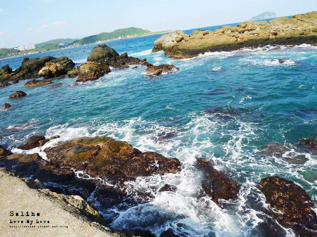 新北瑞芳象鼻岩附近景點一日遊推薦番仔澳酋長岩公園 (8)