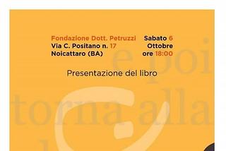 Noicattaro. presentazione libro front