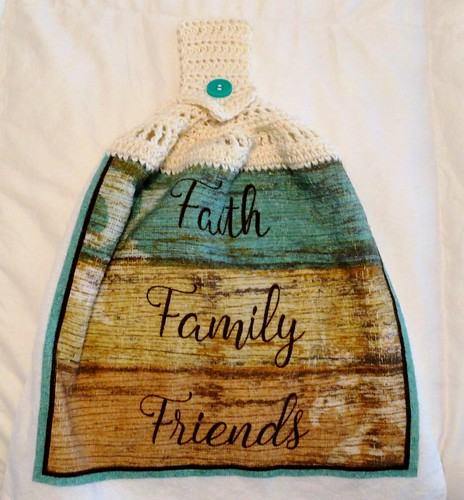 Faith Family Friends Towel Topper