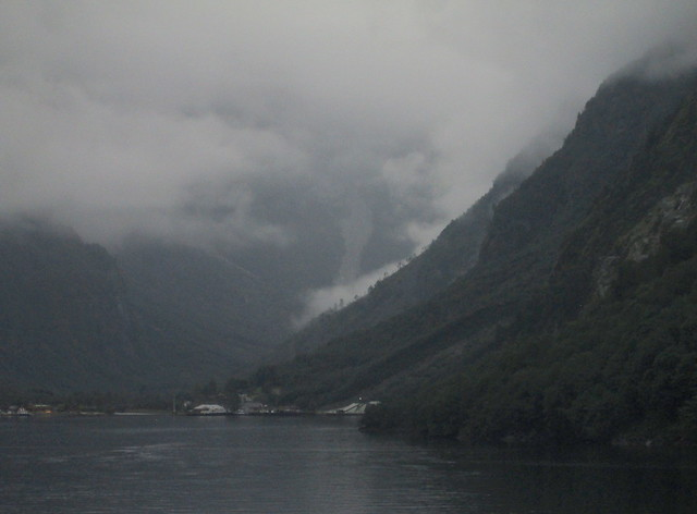 Head of Nærøyfjord, Norway