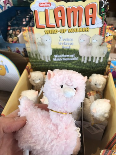 Toys at Mrs. Tiggy Winkle's (Wind up Llama)