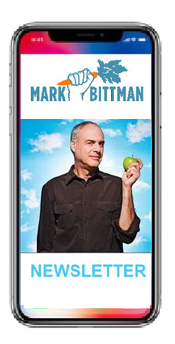 Mark Bittman has a newsletter.