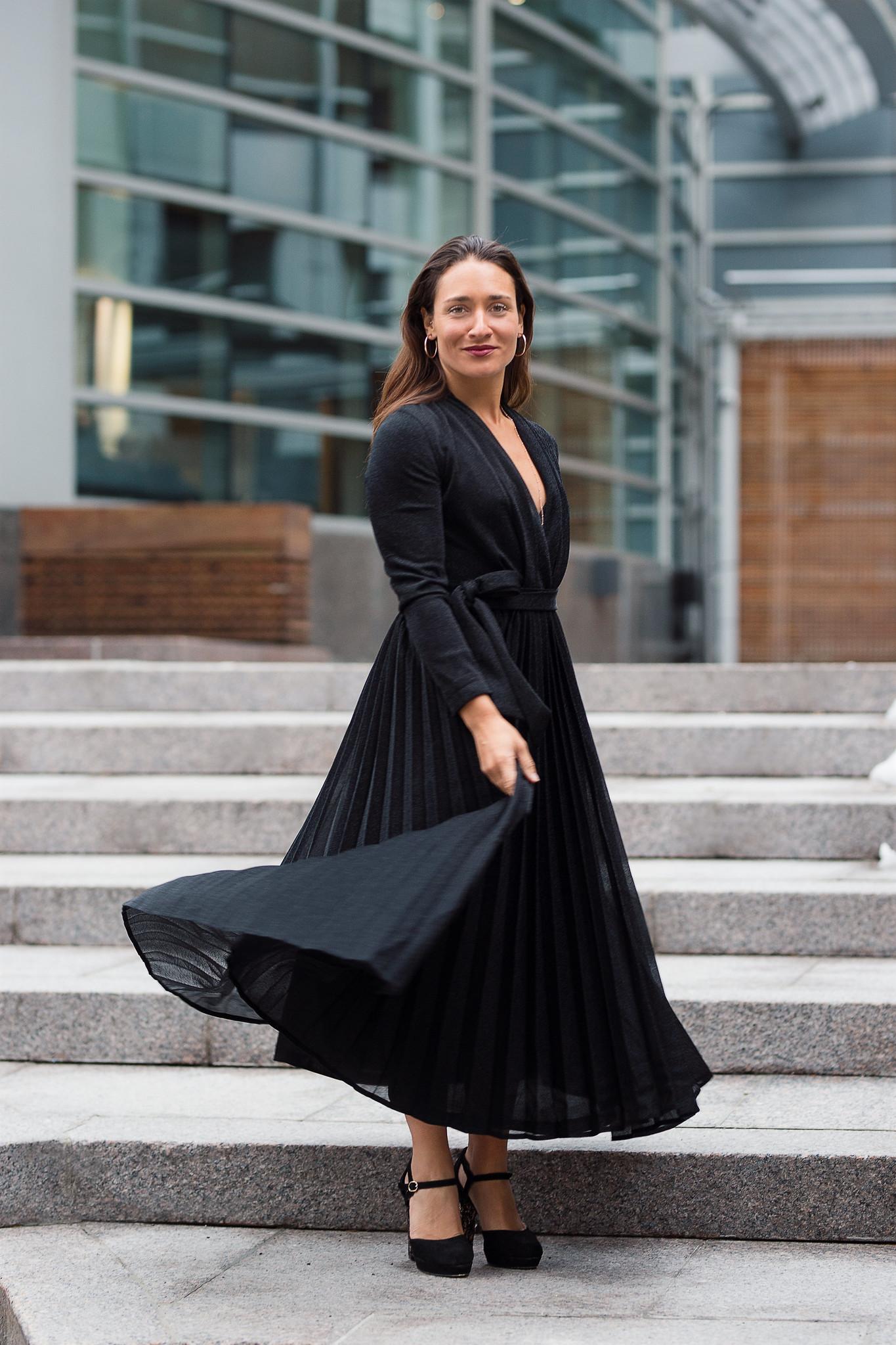 Camille Dg robe noire