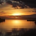 Sonnenuntergang auf Møn