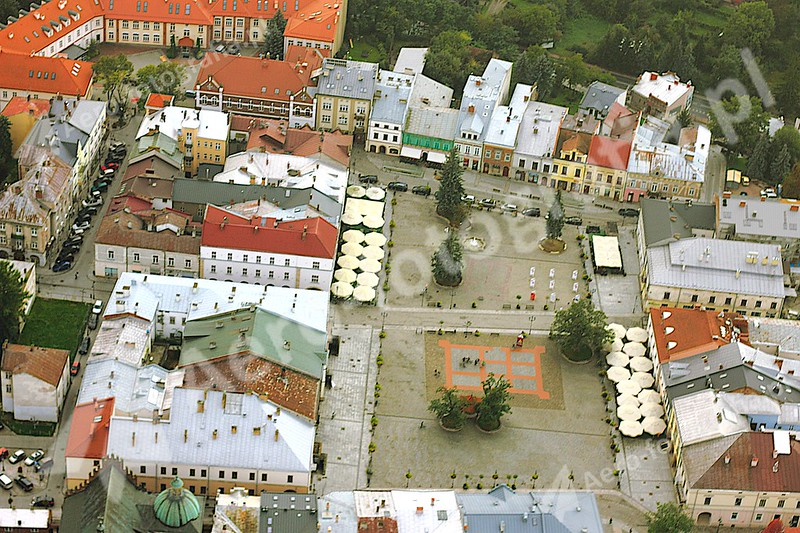 Rynek w Krośnie.